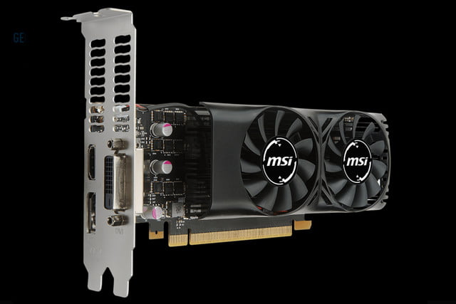 msi gtx  new low profile compact cards geforce gt lp