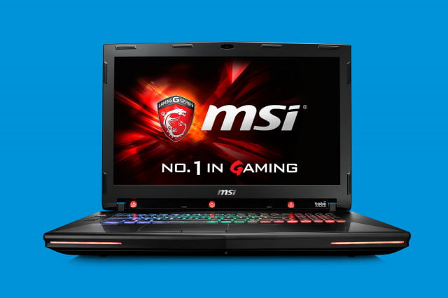 msi brings eye tracking tech to latest gaming notebook nb gt  tobii photo