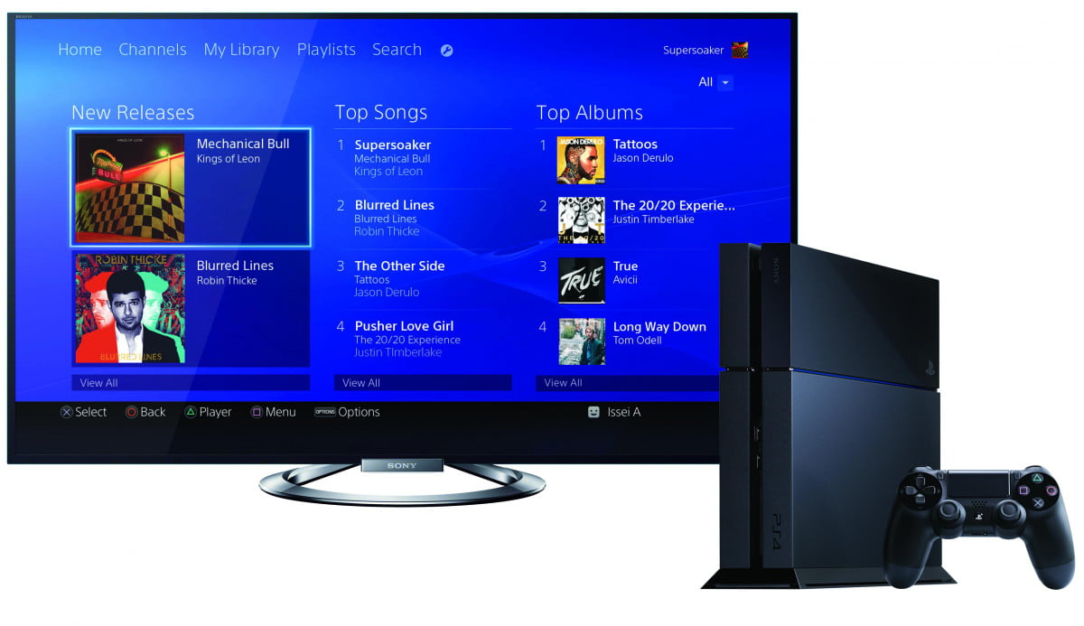 sony brings discoutned music unlimited subscription cards gamestop mu bravia ps flow euen