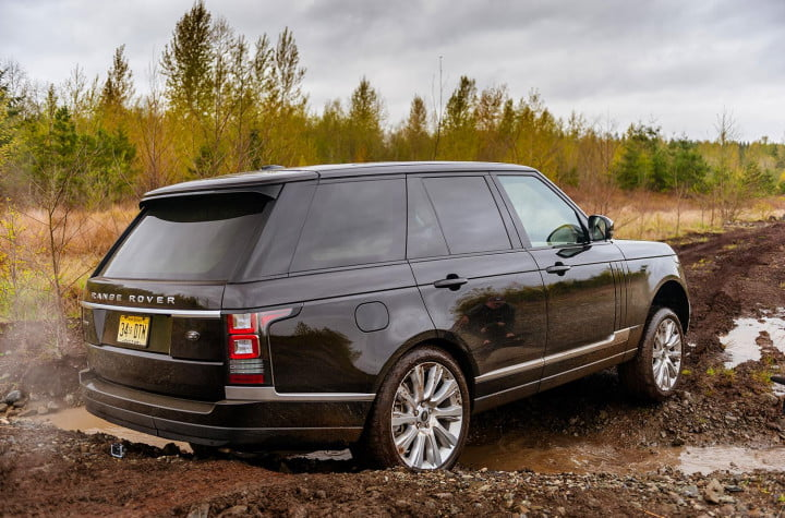mudfest  jeeves bring around the range rover were going muddin day two