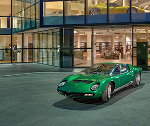 Stroll through iconic classics and oddball rarities in Lamborghini's museum