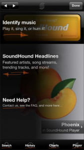 music festival apps Soundhound