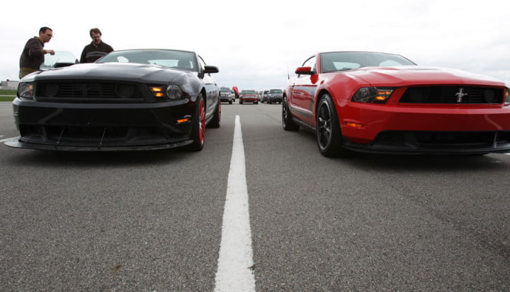 ford mustang boss review standard and laguna seca