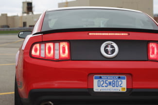 Mustang Boss 302 Red Tail Lights