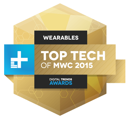 MWC 2015 wearables award winner