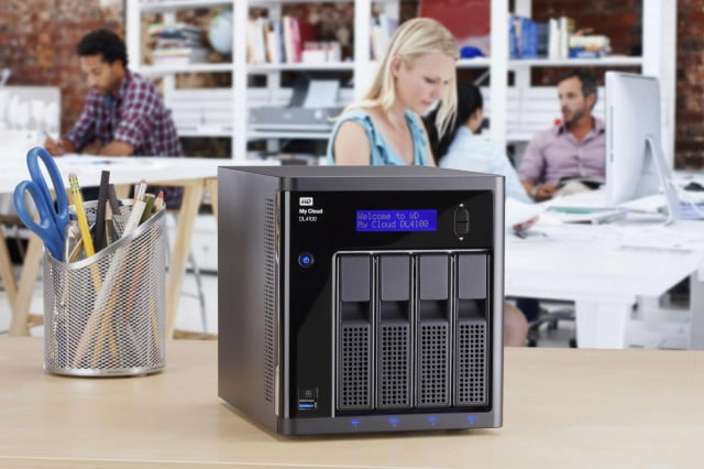 WD My Cloud Business series (DL4100).