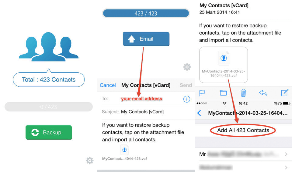 Get Google Contacts On Iphone