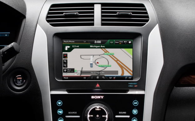 MyFord Touch 2.0 nav screen