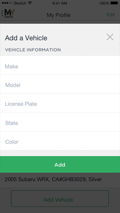 online apps offer variety of car parking solutions mylucke app  screen