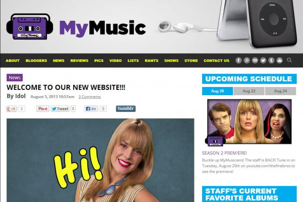 mymusictv blog