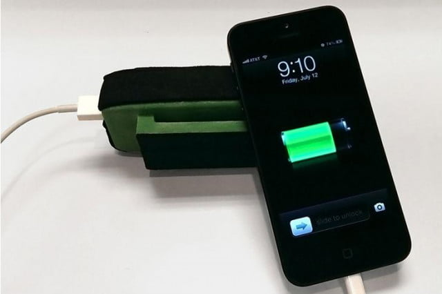 mypower lets charge phone just moving around