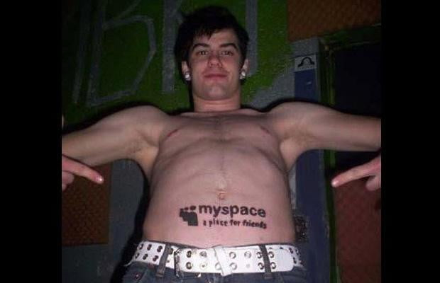 MySpace Belly Tattoo