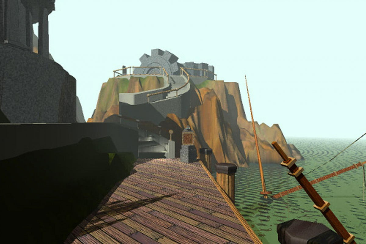 exploring myst and its roots as we celebrate the games  th anniversary first scene
