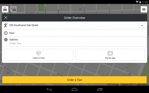 mytaxi_Android_tablet_app_screenshot