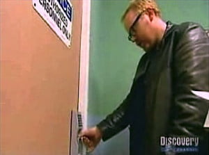 Mythbusters beat fingerprint scanner