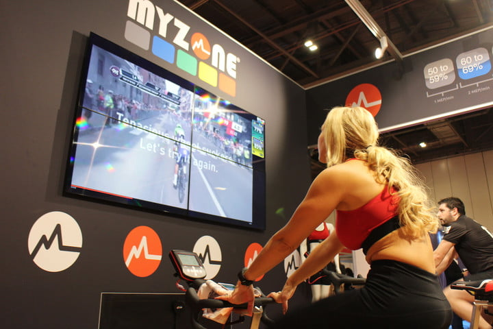 myzone movies virtual workout classes news display