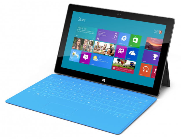 Windows 8 RT tablet