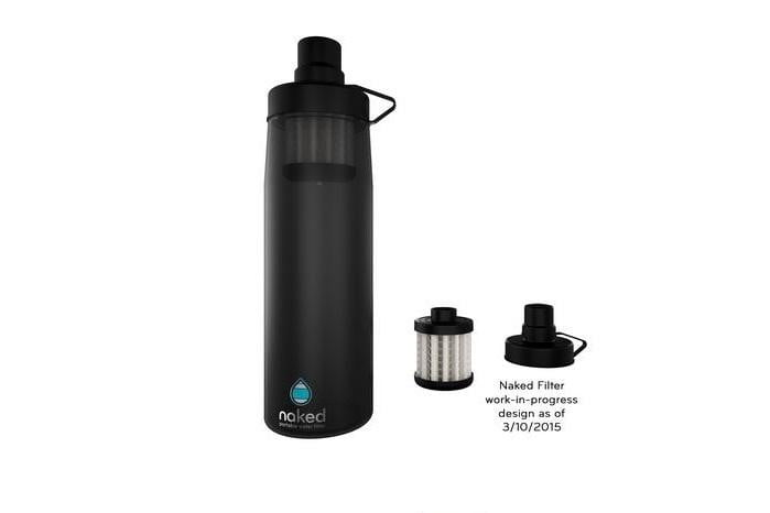 Never buy bottled water again with Liquidity's bottle top filter