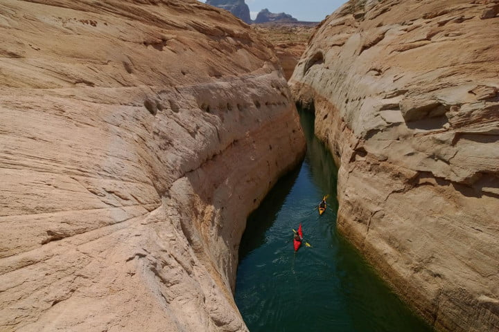 National Geographic photographer Stephen Alvarez Face Canyon Lake Powell