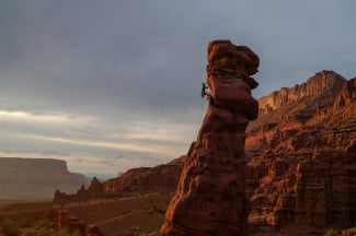 National Geographic photographer Stephen Alvarez Lizard Rock Fisher Towers