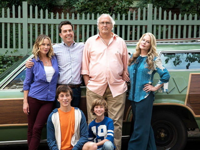 national lampoons vacation reboot ed helms chevy chase