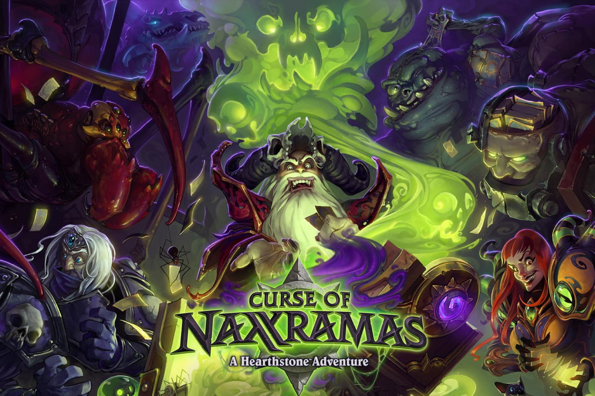 curse naxxramas hearthstones first single player adventure july