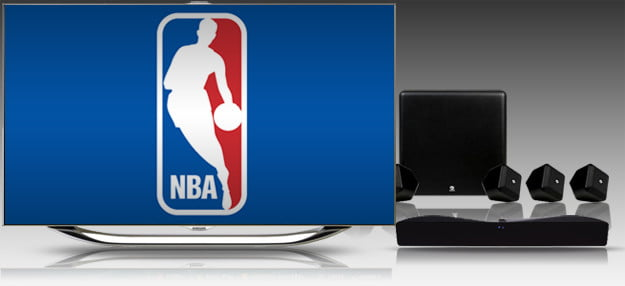 nba basketball home theater sports espn