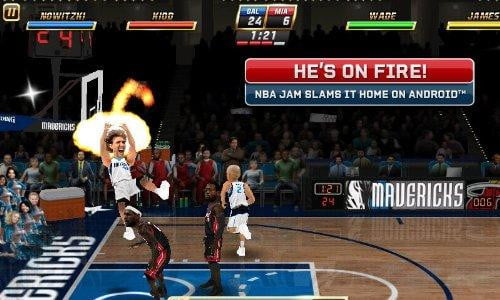 nba jam basketball kindle fire game app