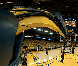 Courtside cameras weren't enough. This year, the NBA is doing VR right