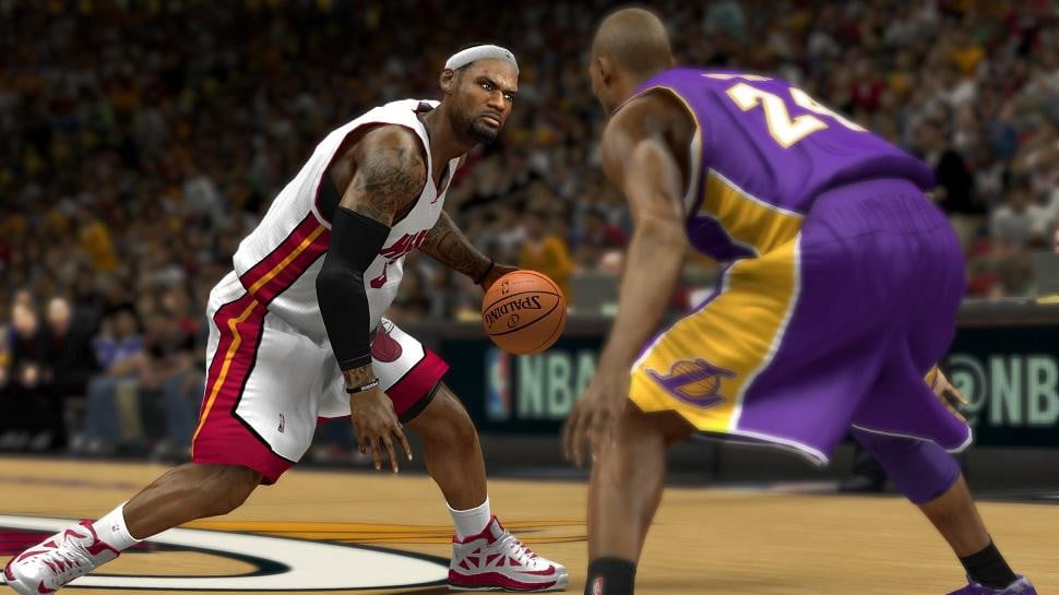 nba  k best selling sports game next gen systems xenon ( )