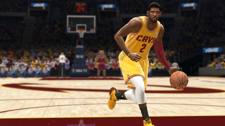 nba live  interview xbox one kyrie irving