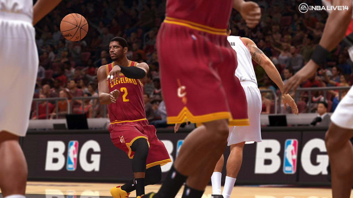 nba live  preview nbalive ps kyrie irving pass