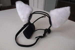 Necomimi Brainwave Cat Ears back