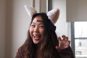 Necomimi Brainwave Cat Ears rawr