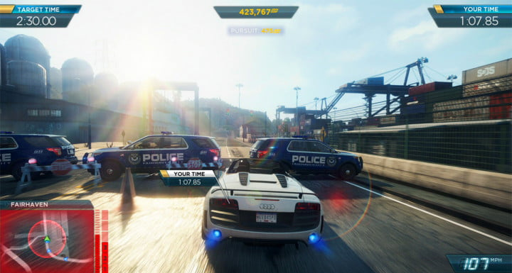 need for speed most wanted u review wii screenshot