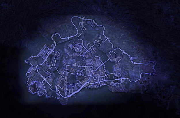 need for speed most wanted wii u screenshot fairhaven map