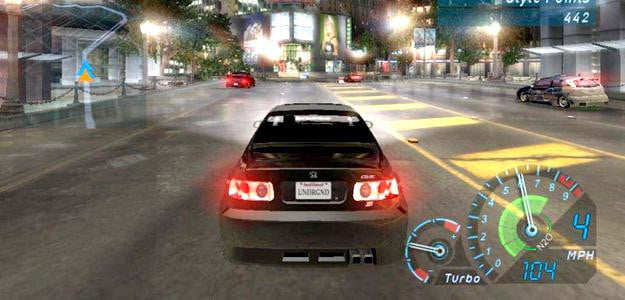 need for speed underground xbox pc playstation racing game