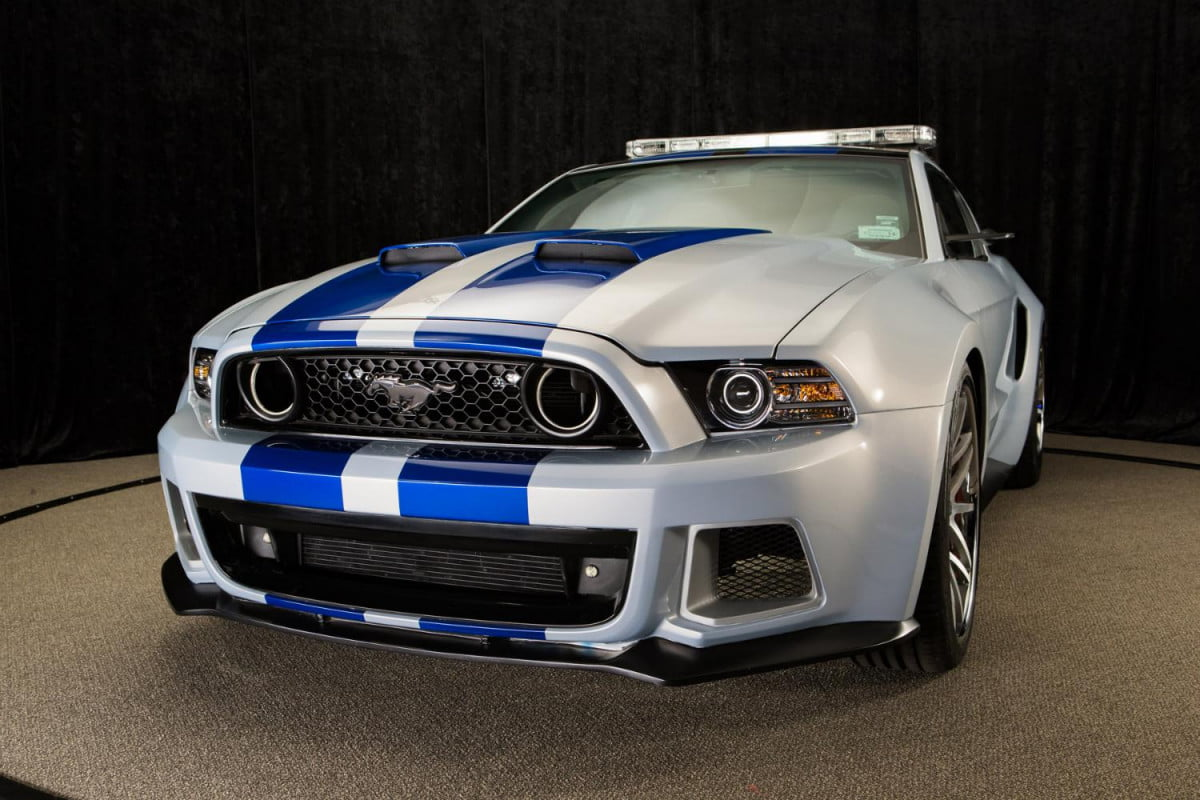 need speed mustang one silver screen nascar neef for