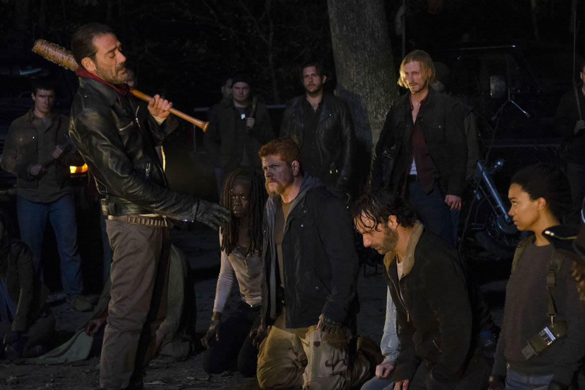 the walking dead adds four new series regulars to season seven negan