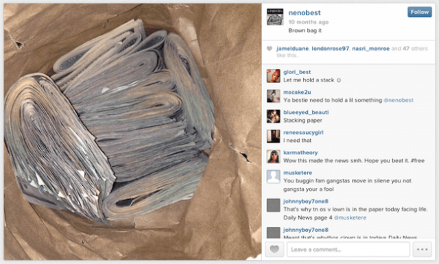 rapper brags about selling guns on instagram ended in nycs largest gun bust history neno best