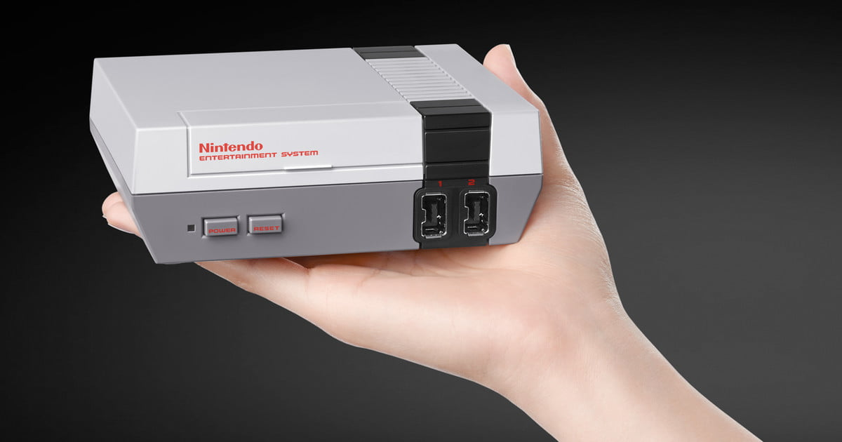 Pint-sized Nintendo Classic Edition comes loaded with a retro gaming treasure trove