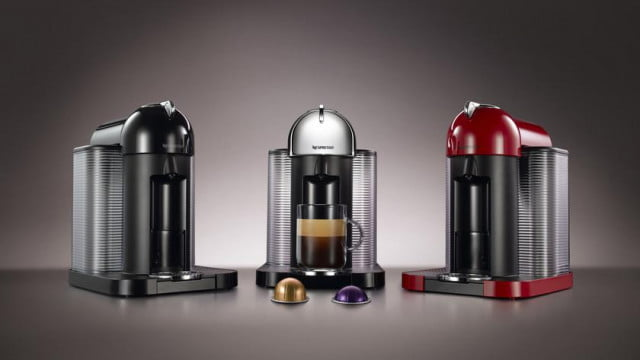 nespresso launches vertuoline stylish new keurig competitor