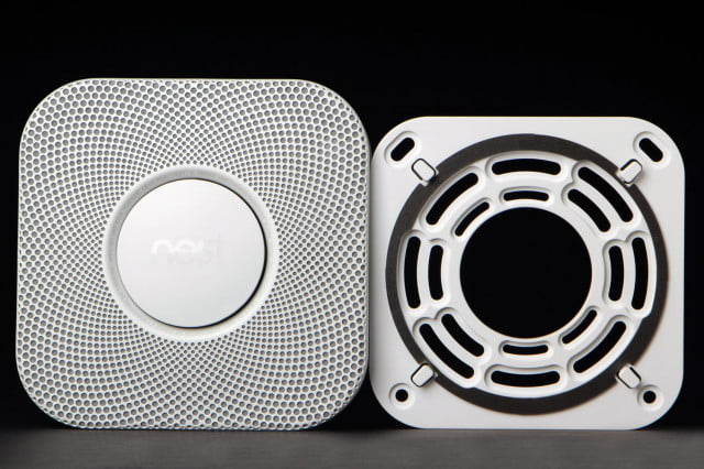 nest is looking to hire a head of audio smoke detector front open