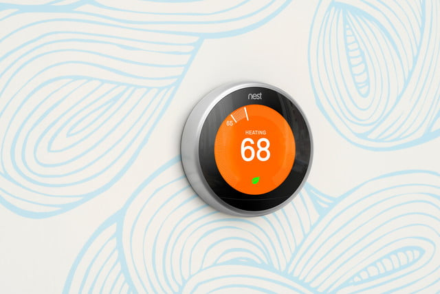 google android things nest thermostat control heat