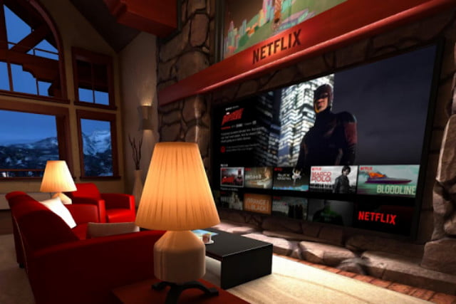 netflix adds  k and hdr but not vr living room
