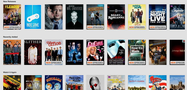 netflix new streaming video cable