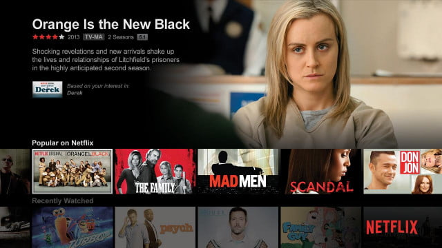 netflix says never offline viewing amazon streaming screen