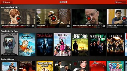 netflix streaming video instant play android tablet google play