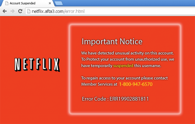 indian hackers pose netflix tech support aim steal files identity unusual activity hack