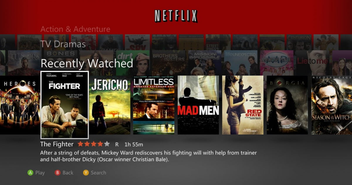how to connect netflix to xbox kinect